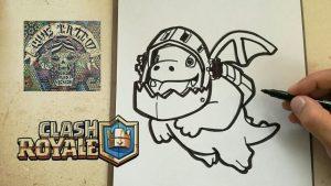 Cómo Dibujar Personajes De Clash Royale Fácil Paso a Paso