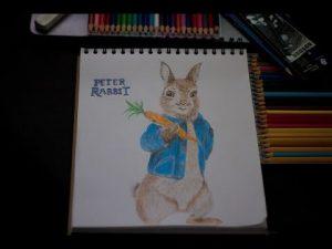 Dibuja Peter Rabbit Fácil Paso a Paso