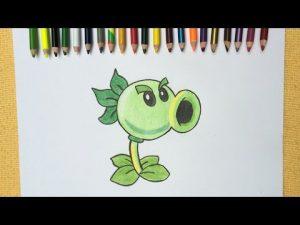 Dibujar Plantas Vs Zombies 2 Paso a Paso Fácil