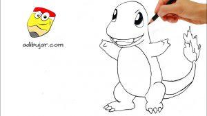 Dibujar Pokémon A Lápiz Paso a Paso Fácil