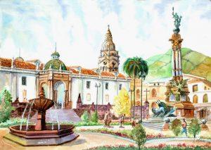 Dibuja Quito Fácil Paso a Paso