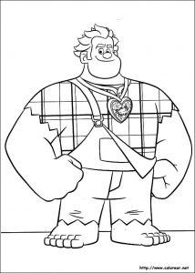 Dibujar Ralph Rompe Internet Fácil Paso a Paso