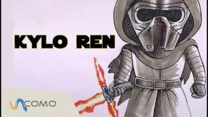 Dibuja Star Wars Vii Fácil Paso a Paso