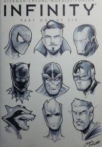 Cómo Dibuja Superheroes De Marvel Paso a Paso Fácil
