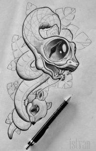 Cómo Dibujar Tatuajes Fácil Paso a Paso