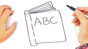 Dibuja Un Libro Cerrado Paso a Paso Fácil