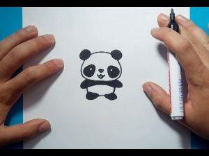 Cómo Dibujar Un Oso Panda Paso a Paso Fácil