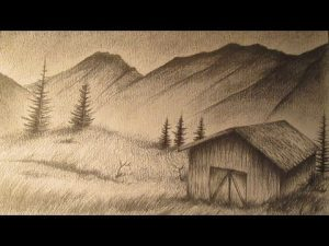 Dibujar Un Paisaje Realista Paso a Paso Fácil