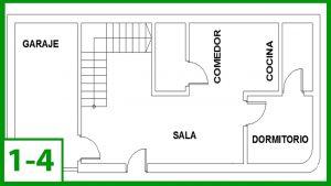 Cómo Dibujar Un Plano De Una Casa Fácil Paso a Paso