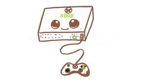 Dibuja Un Xbox Paso a Paso Fácil