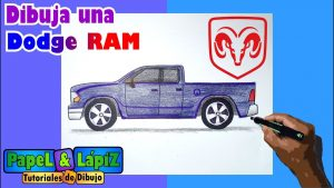 Dibujar Una Camioneta 4X4 Paso a Paso Fácil