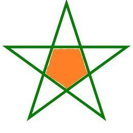 Cómo Dibuja Una Estrella De 5 Puntas Sin Compas Fácil Paso a Paso