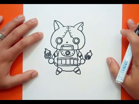 Cómo Dibuja Yo Kai Watch Paso a Paso Fácil