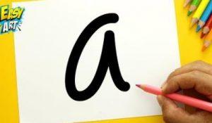 Cómo Dibuja A Partir De Letras Paso a Paso Fácil