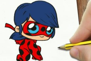 Cómo Dibujar A Ladybug Paso a Paso Fácil