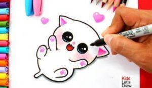 Cómo Dibuja Estilo Cute Fácil Paso a Paso