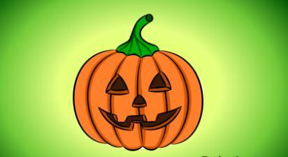 Dibujar Cosas De Halloween Fácil Paso a Paso
