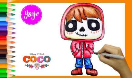 Cómo Dibujar Personajes De Coco Fácil Paso a Paso