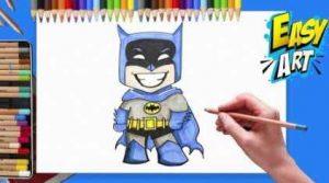 Cómo Dibujar Personajes De Dc Comics Fácil Paso a Paso