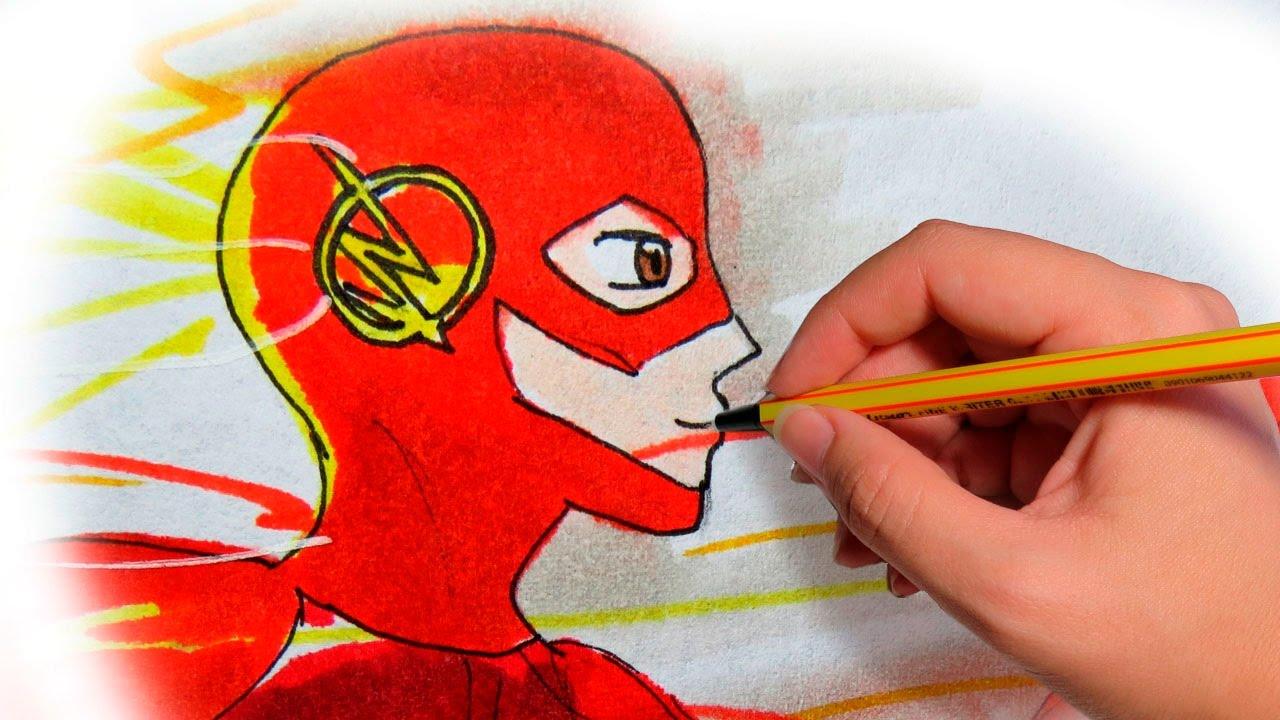 como dibujar superhéroes paso a paso y fácil