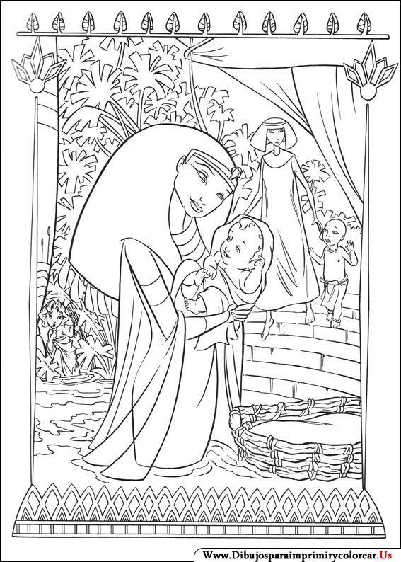 Dibujos de El príncipe de Egipto para Imprimir y Colorear  Dibujos para  colorear  Dibujos  Dibujo de peppa pig, dibujos de Príncipe Egipto, como dibujar Príncipe Egipto paso a paso
