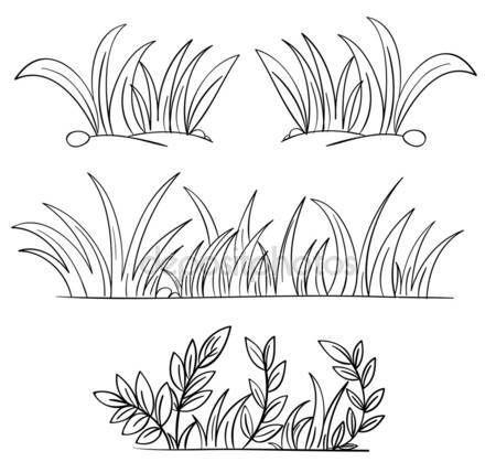Dibujo de pasto para colorear - Imagui  Dibujos  Cómo dibujar cosas   Esbozar dibujos, dibujos de Hierba, como dibujar Hierba paso a paso