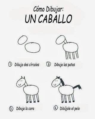 Dibujar un caballo  Dibujos para niños  Dibujos faciles para niños  Como  dibujar un caballo, dibujos de Un Caballo Para Niños, como dibujar Un Caballo Para Niños paso a paso