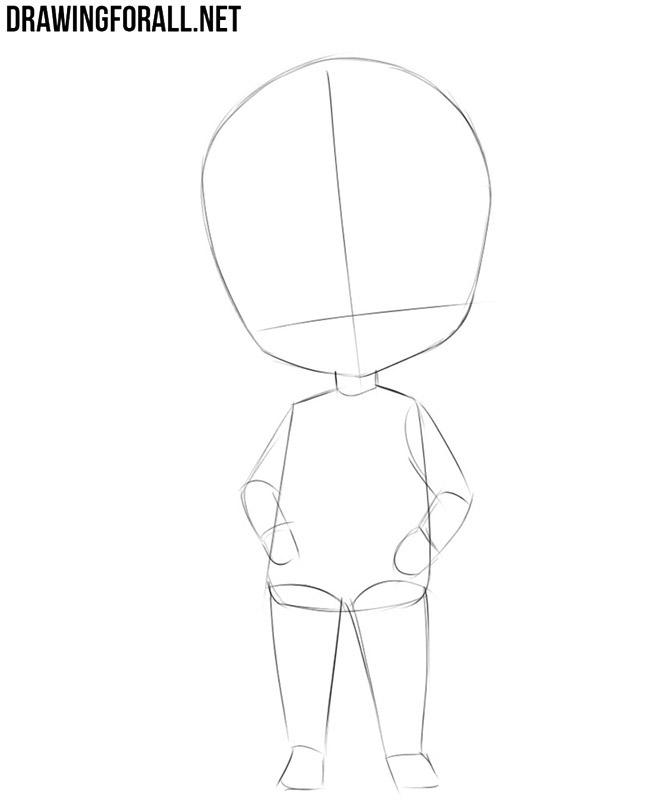 Guía de dibujo de Chibi