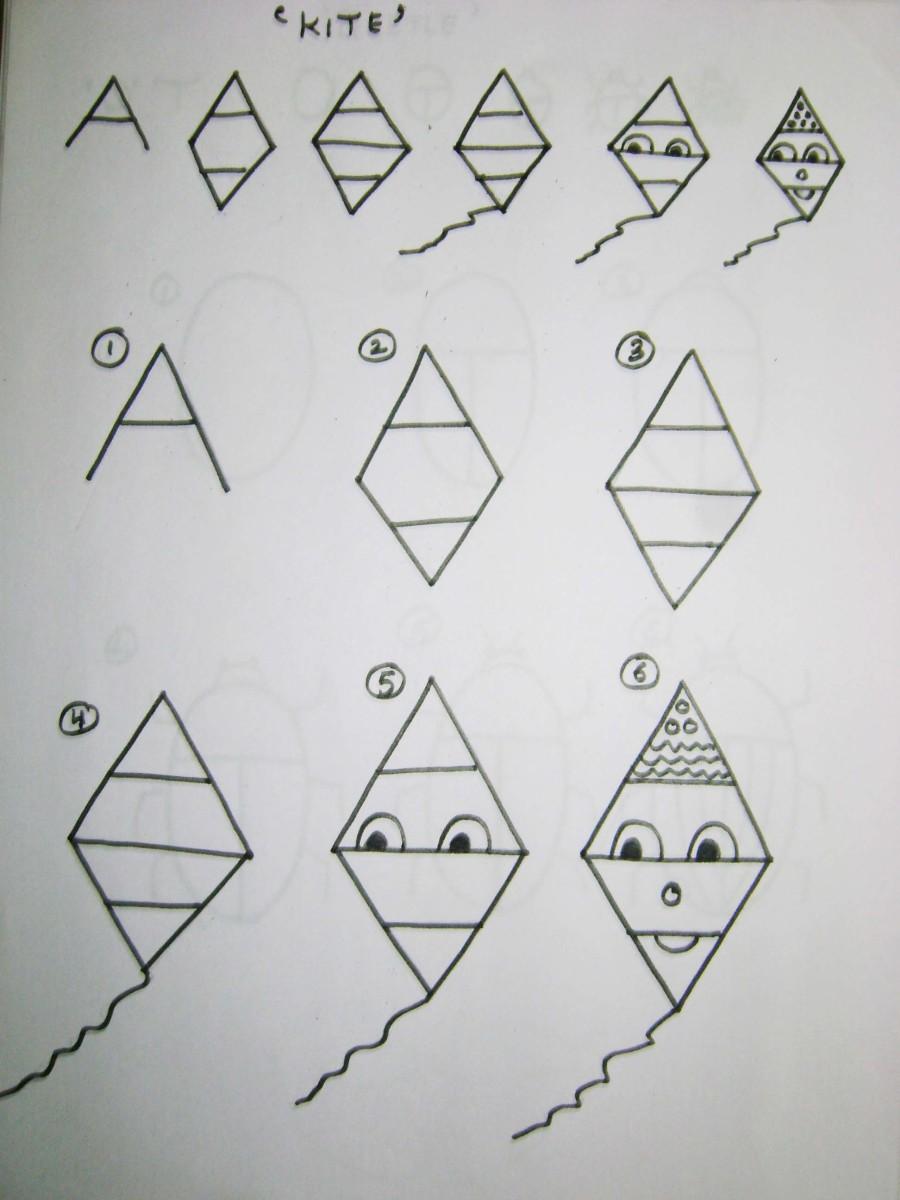 25-instrucciones-como-dibujar-para-niños-usando-letras