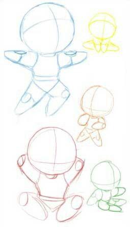 Como dibujar chibi Como dibujar chibi Bocetos Dibujos, dibujos de Animé Chibi, como dibujar Animé Chibi paso a paso