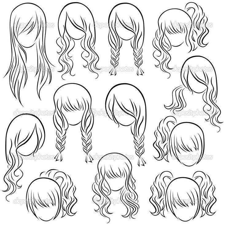 Resultado de imagen de como dibujar un pelo corto con flequillo Dibujos de peinados Dibujar pelo Dibujo de pelo, dibujos de Flequillo, como dibujar Flequillo paso a paso