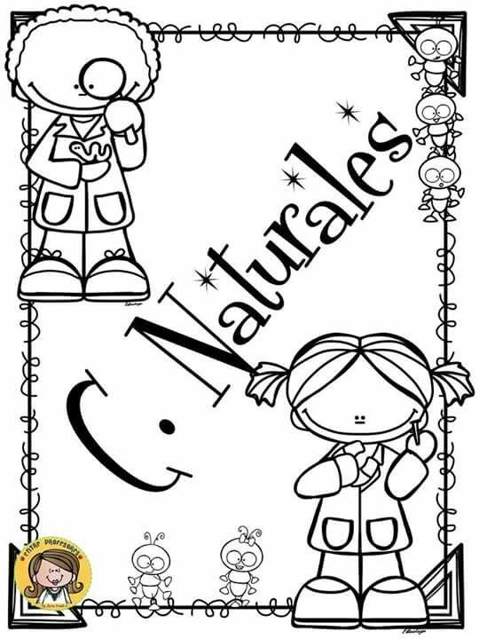 Portadas primaria  Caratulas de ciencias naturales  Caratulas de ciencias   Portada de cuaderno de ciencias, dibujos de La Portada De Ciencias Naturales, como dibujar La Portada De Ciencias Naturales paso a paso