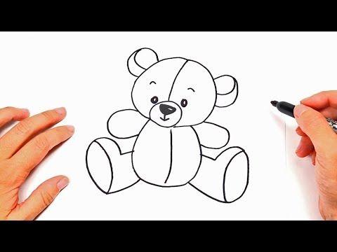 Como dibujar un Osito de Peluche  Dibujos Infantiles Bonitos - YouTube  Como  dibujar un oso  Osos de peluche  Dibujo oso de peluche, dibujos de Un Oso Para Niños, como dibujar Un Oso Para Niños paso a paso