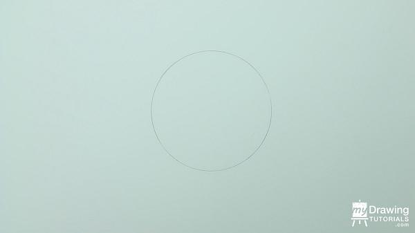 Dibujo de esfera 3D 1