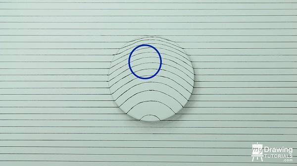 Dibujo de esfera 3D 6