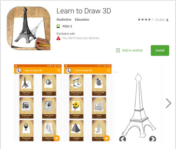 Explore su tienda de aplicaciones para encontrar tutoriales paso a paso