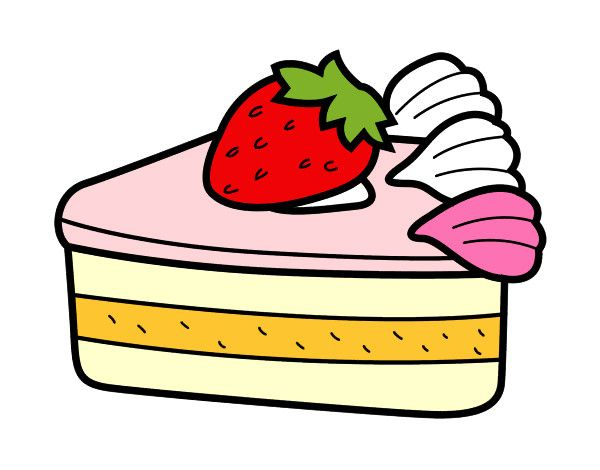 Dibujo Tarta de fresas  Fresas dibujo  Tarta de fresas  Osos de peluche, dibujos de Tarta De Fresa, como dibujar Tarta De Fresa paso a paso