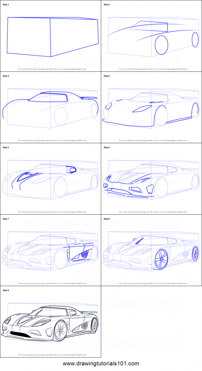 How to Draw Koenigsegg Agera R step by step printable drawing sheet to  print -  Learn How to Draw Koenigsegg Agera R  Cool car drawings  Drawing  sheet  Koenigsegg, dibujos de Un Koenigsegg Agera R, como dibujar Un Koenigsegg Agera R paso a paso
