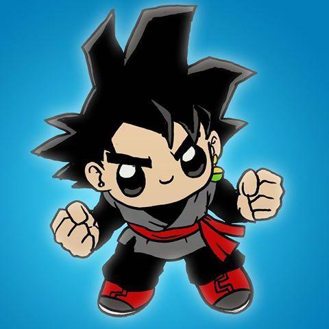 Goku black Kawaii #goku #gokublack #dragonball #dragonballsuper #songoku  #drawing #drawings #kawaii  Dibujos kawaii 365  Dibujos kawaii faciles   Dibujos, dibujos de A Gokú Black Kawaii, como dibujar A Gokú Black Kawaii paso a paso