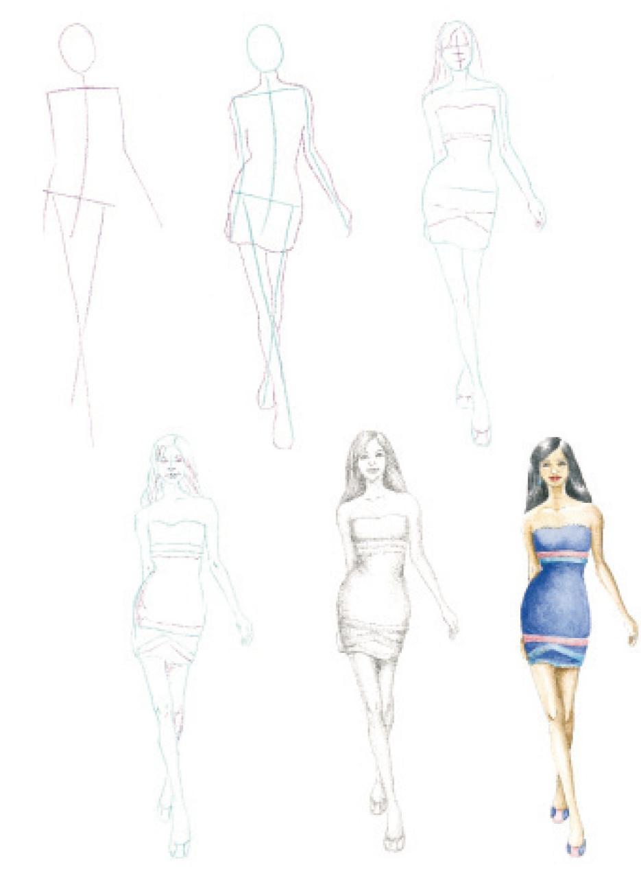 Cómo Dibujar Figurines De Moda En Sencillos Pasos Como Dibujar: Amazon - es:  Hodge  Susie: Libros, dibujos de Figurines, como dibujar Figurines paso a paso