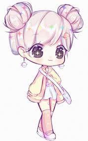 Resultado de imagen para dibujo anime  Dibujos chibi  Dibujos kawaii   Chibi dibujos, dibujos de Animé Kawaii, como dibujar Animé Kawaii paso a paso