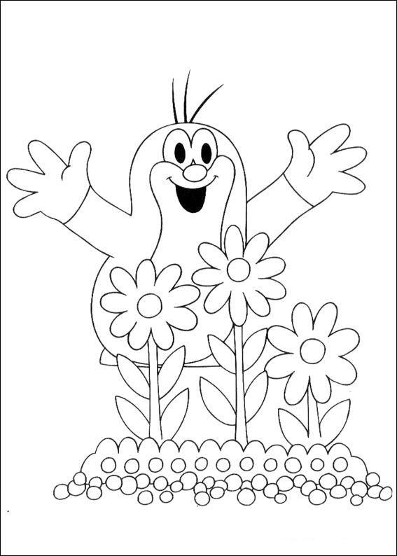 Krtek El Topito 8 dibujos faciles para dibujar para niños -  Colorear in 2020   Ausmalbilder  Ausmalbilder kinder  Malvorlagen, dibujos de Krtek, como dibujar Krtek paso a paso