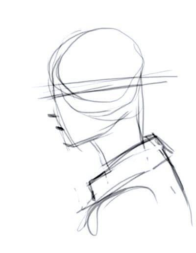 como-dibujar-un-rostro-de-perfil  Anatomy drawing  Drawing tutorial   Drawing tips, dibujos de Perfiles, como dibujar Perfiles paso a paso