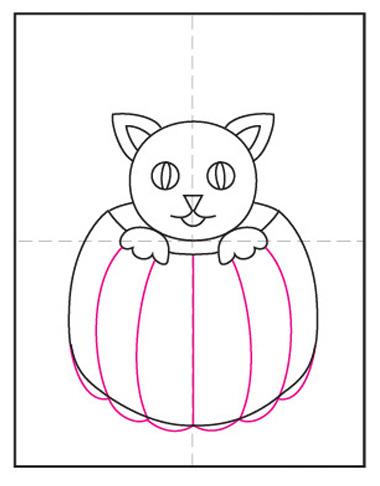 dibujo halloween facil