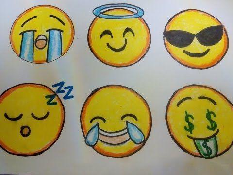 Como dibujar un Emoji paso a paso 2 How to draw an Emoji 2 - YouTube Como dibujar un emoji Emojis dibujos Como hacer dibujos, dibujos de Emoticonos, como dibujar Emoticonos paso a paso