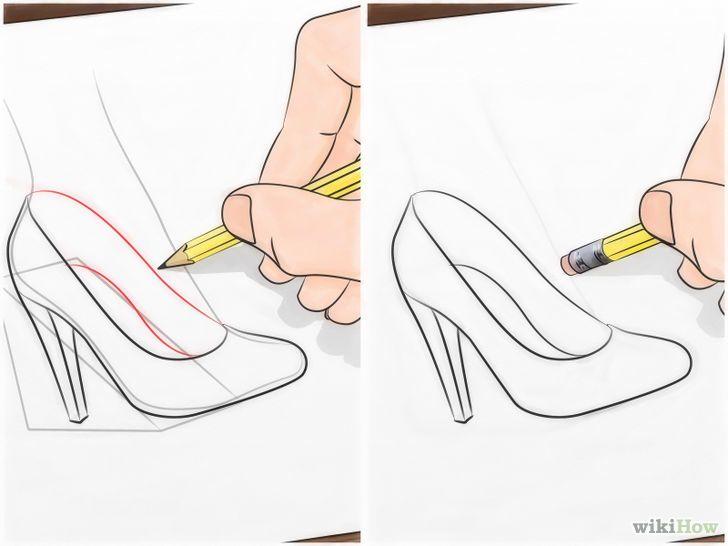 como dibujar zapatos de mujer paso a paso - Buscar con Google  Cómo  dibujar zapatos  Dibujos fáciles de disney  Muñecas de moda, dibujos de Zapatos, como dibujar Zapatos paso a paso
