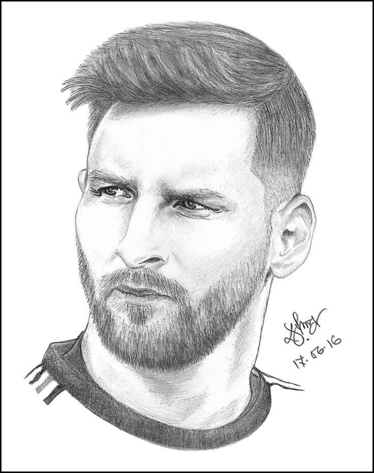 Pin de Erickmonteperez en Dibujos de futbol  Messi dibujo  Fotos de lionel  messi  Dibujos de futbol, dibujos de A Messi, como dibujar A Messi paso a paso
