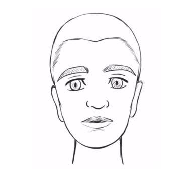 Cómo DIBUJAR UNA CARA fácil PASO A PASO  Timagirl 🙂😐🙃, dibujos de Una Cara, como dibujar Una Cara paso a paso