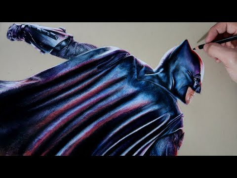 Como dibujar a Batman realista fácil, dibujos de A Batman Realista, como dibujar A Batman Realista paso a paso