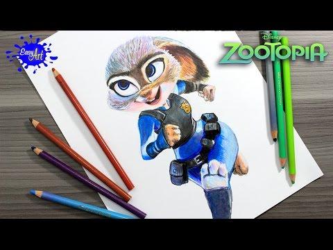Como dibujar personajes de Zootrópolis, dibujos de Personajes De Zootropolis, como dibujar Personajes De Zootropolis paso a paso